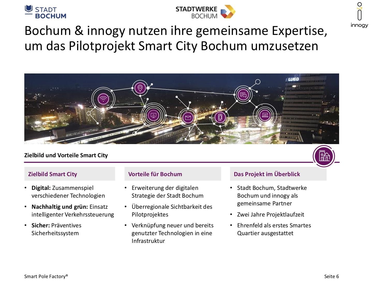 Bürgerforum (Smart City): Bochum & innogy arbeiten gemeinsam am Pilotprojekt