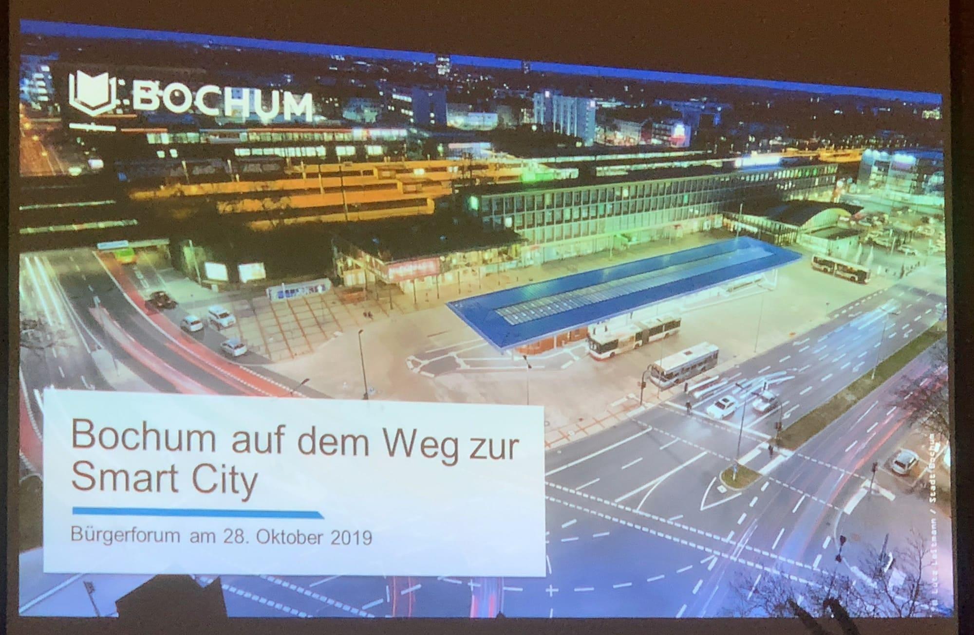 Bochum auf dem Weg zur Smart City (Bürgerforum im Ehrenfeld)