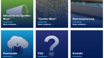(bochum.de) Website zur Beteiligung Gerthe-West