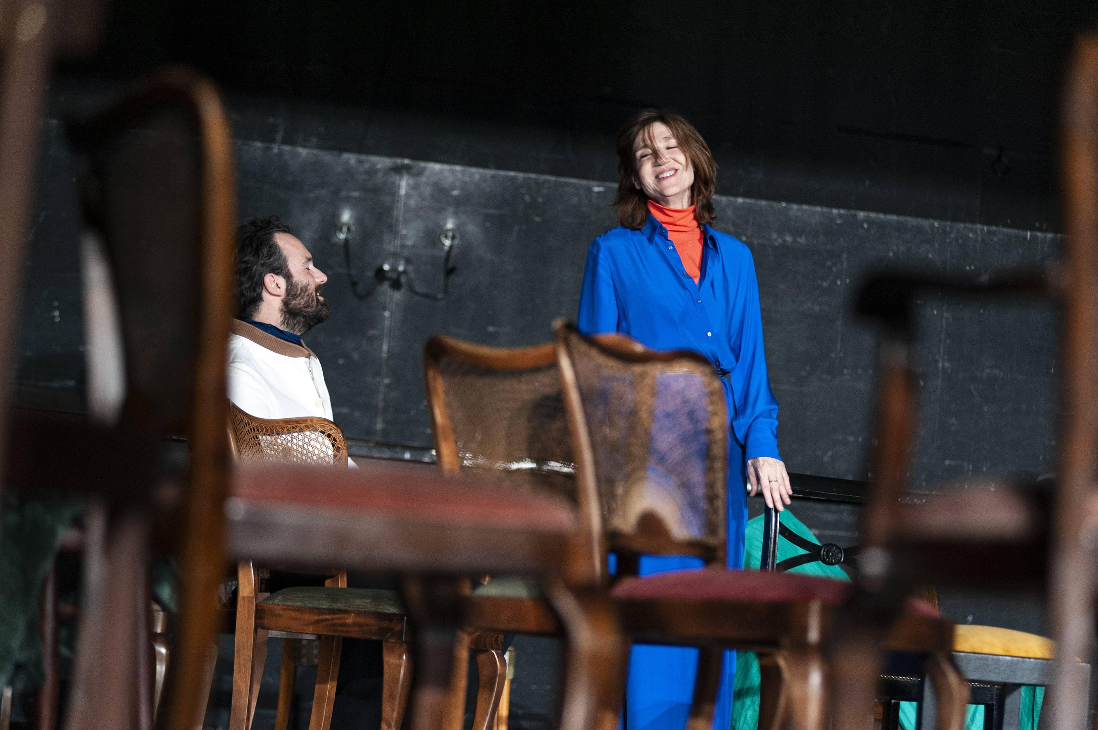 Pressebild Asche zu Asche: Guy Clemens, Elsie de Brauw © Isabel Machado Rios