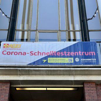 Corona-Schnelltestzentrum (Schauspielhaus Bochum)