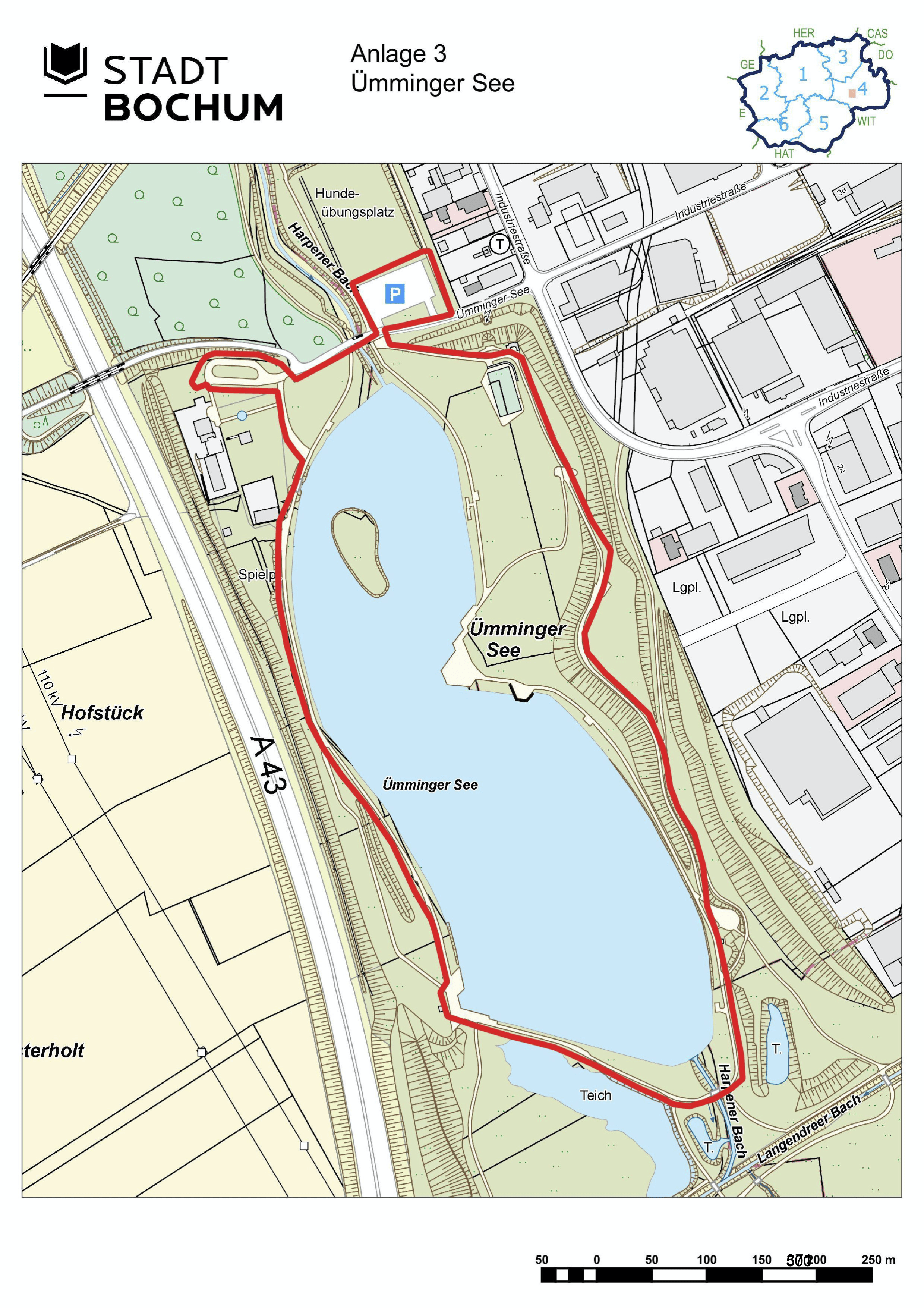 Anlage 3 (Ümminger See) der Sonderausgabe des Amtsblatts (28/2021)
