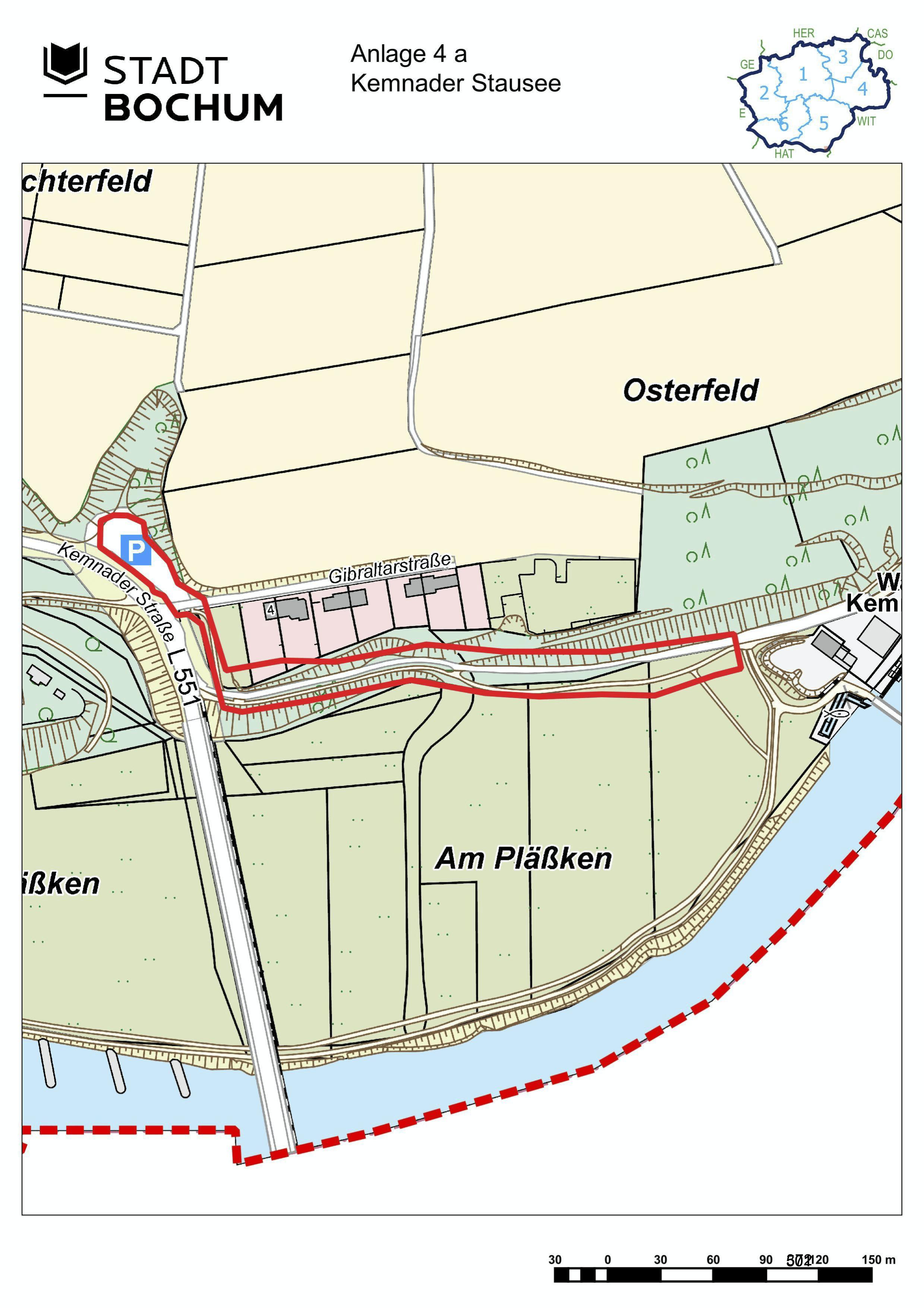 Anlage 4a (Kemnader See) der Sonderausgabe des Amtsblatts (28/2021)