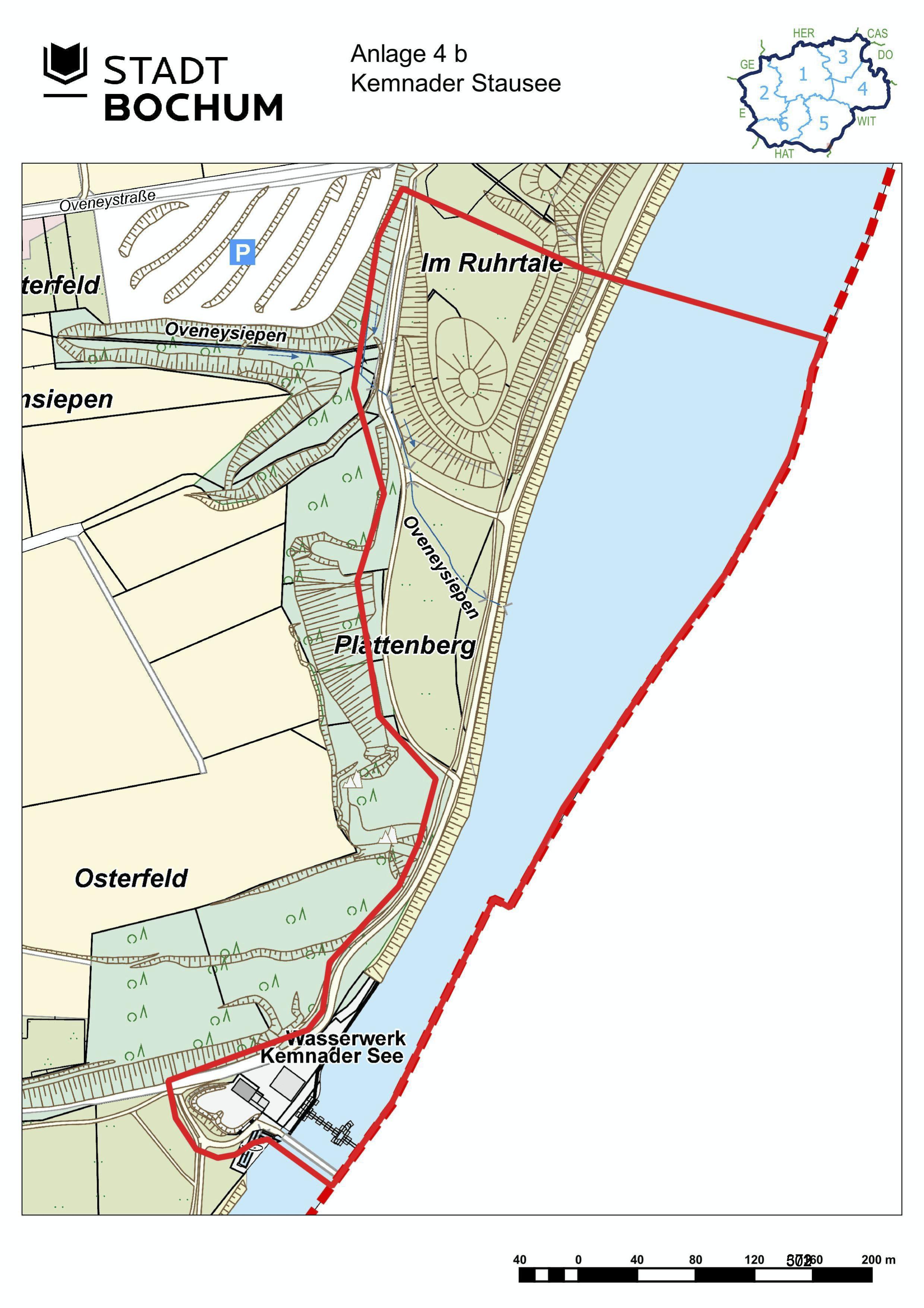 Anlage 4b (Kemnader See) der Sonderausgabe des Amtsblatts (28/2021)