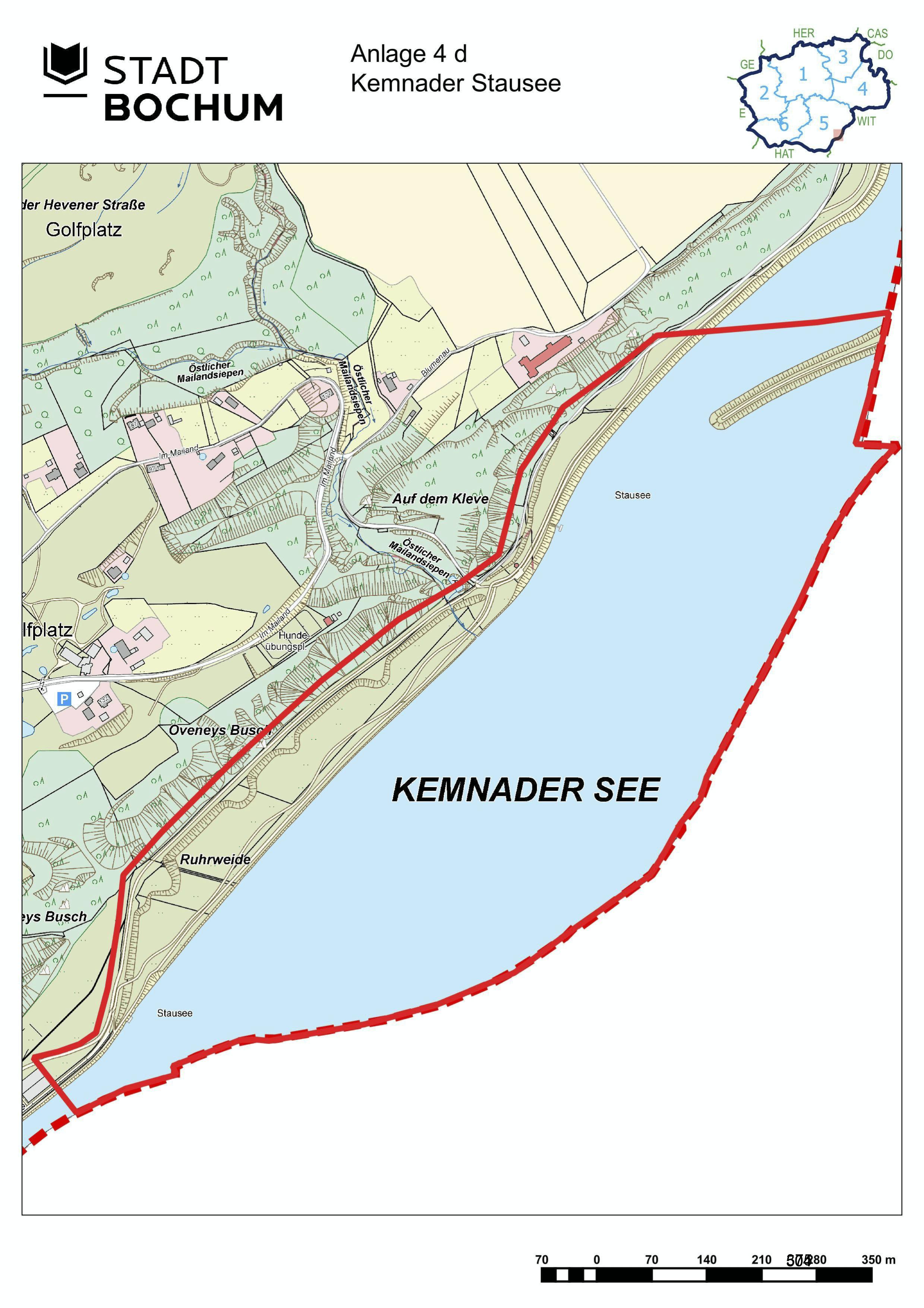 Anlage 4d (Kemnader See) der Sonderausgabe des Amtsblatts (28/2021)