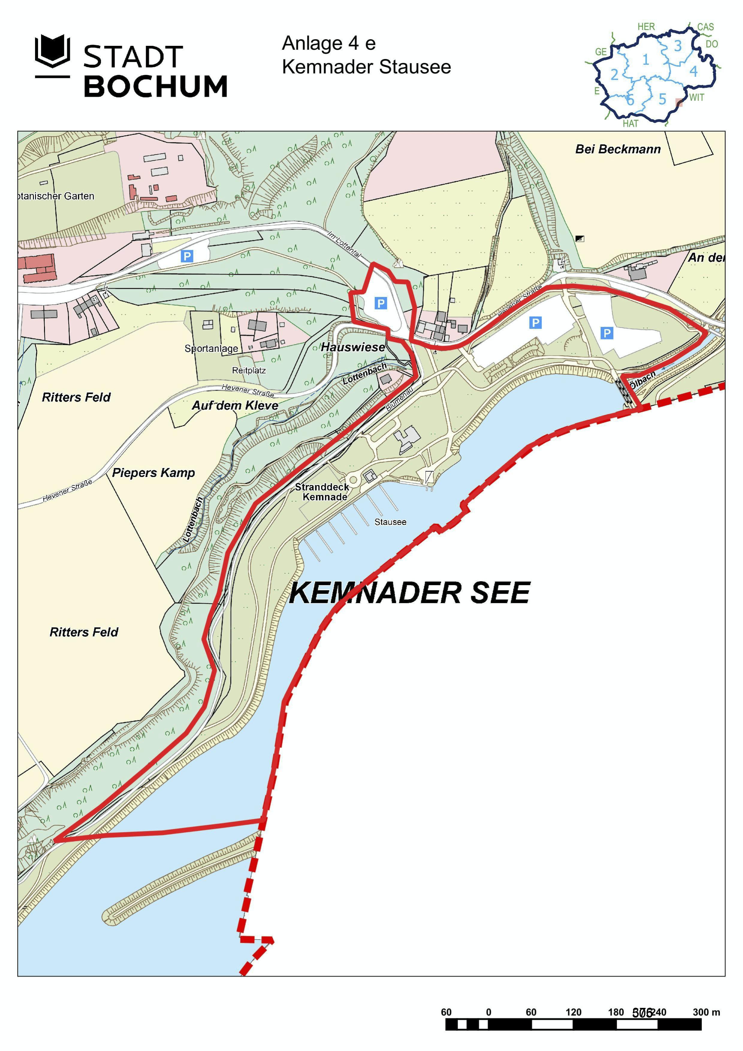 Anlage 4e (Kemnader See) der Sonderausgabe des Amtsblatts (28/2021)