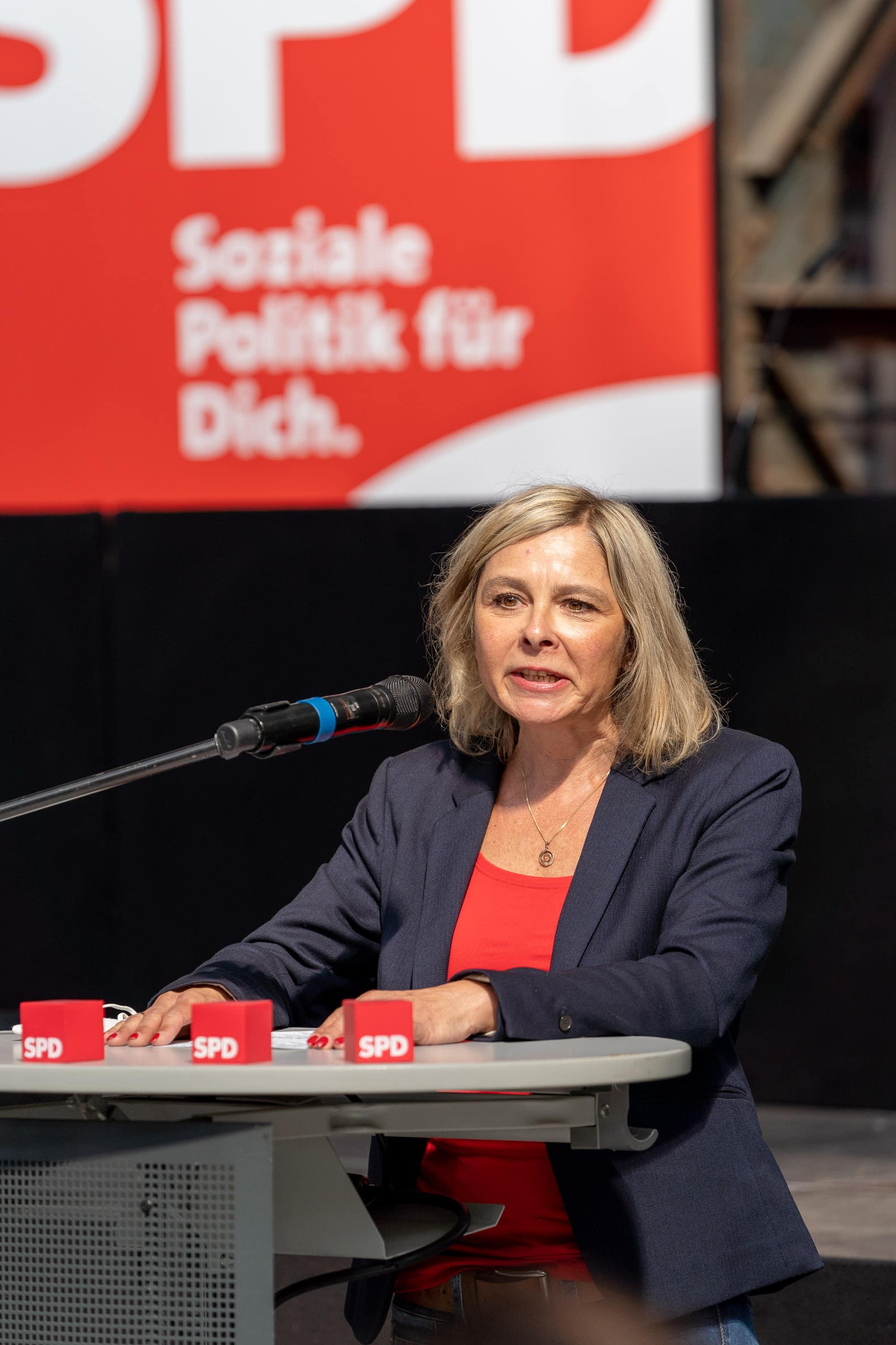 Andrea Busche (SPD) - Kandidatin für den Landtagswahlkreis 107