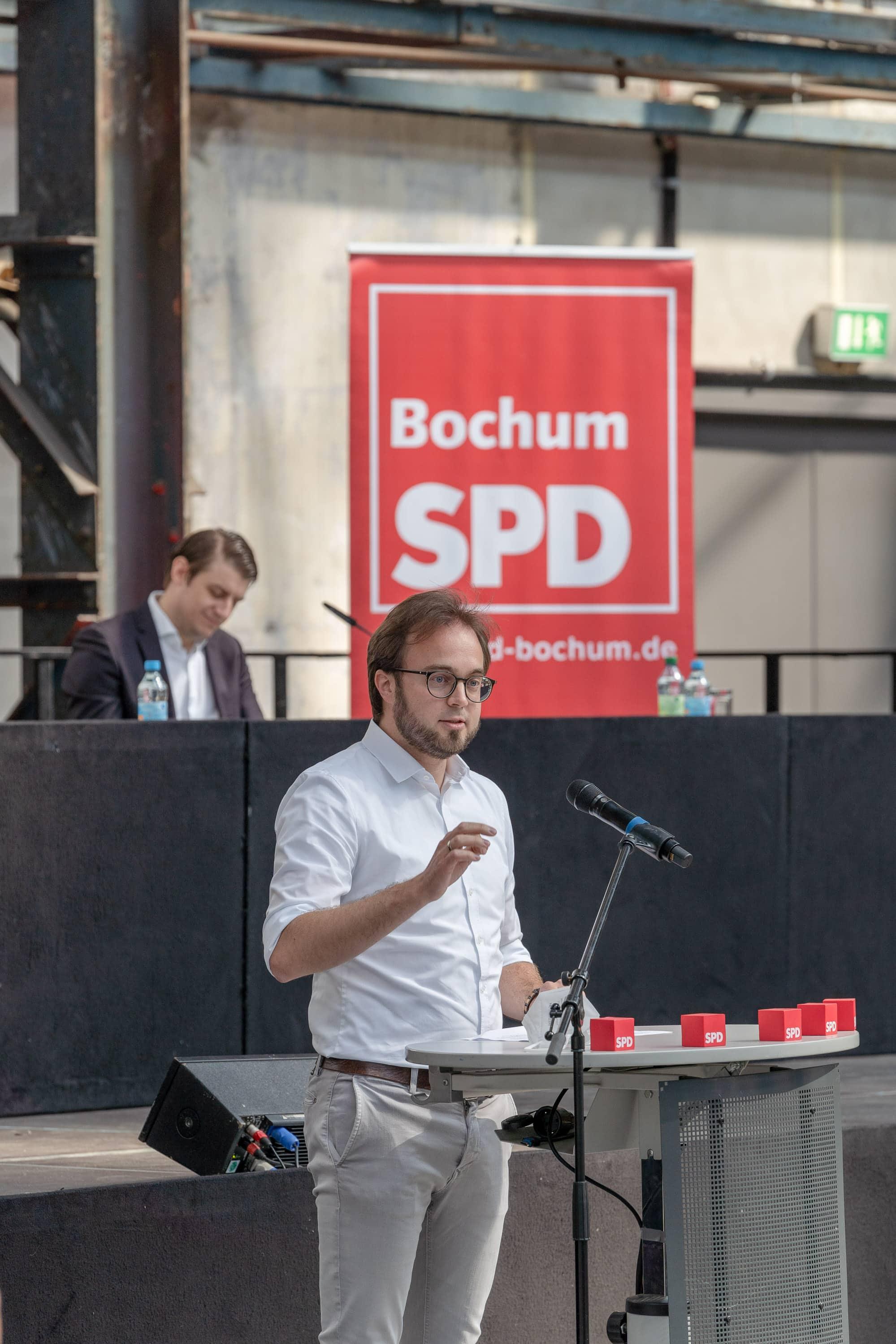 Bastian Hartmann (SPD) - Kandidat für den Landtagswahlkreis 108