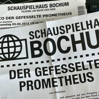 Schauspielhaus Bochum: Der gefesselte Prometheus (von Aischylos)