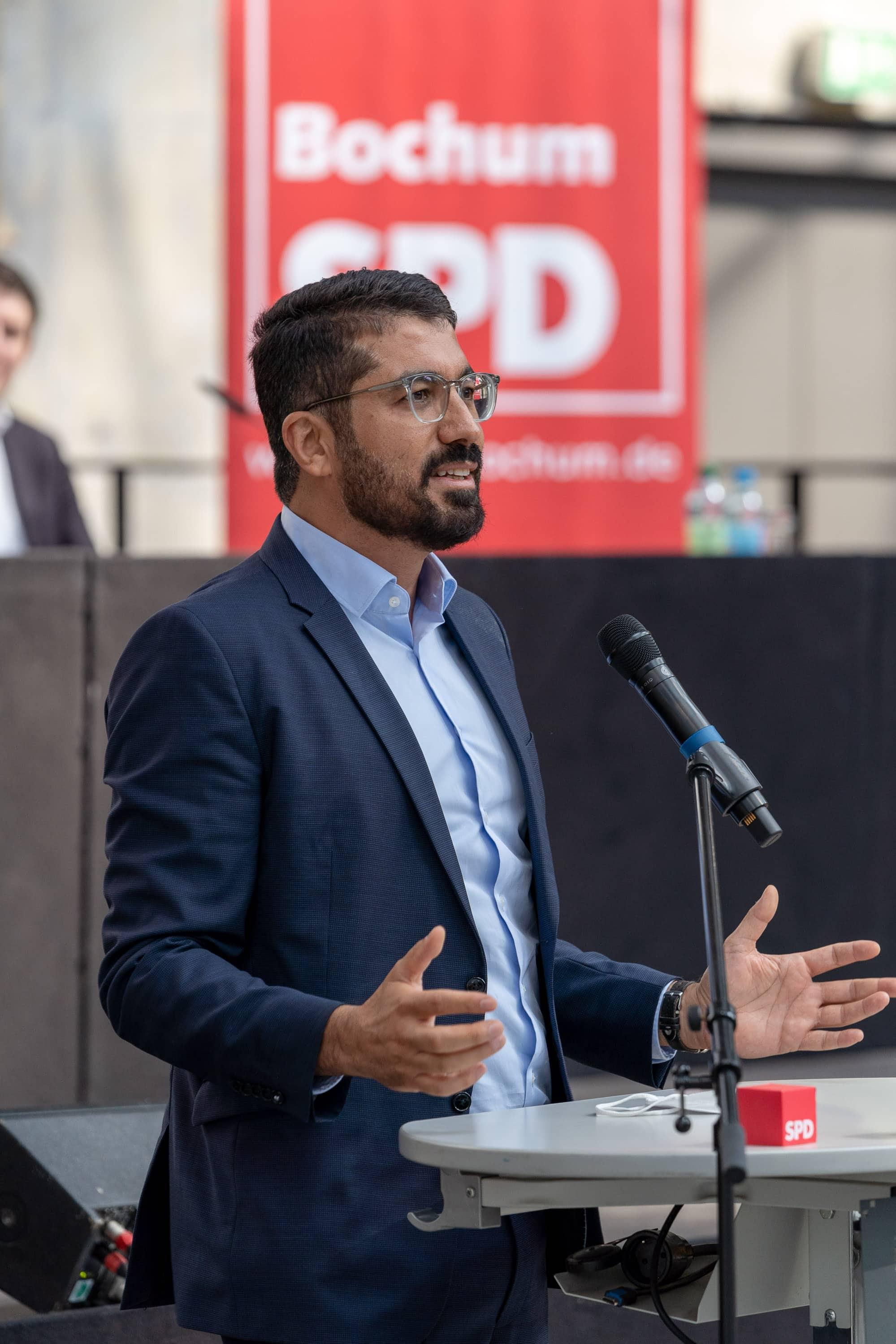 Serdar Yüksel (SPD) - Kandidat für den Landtagswahlkreis 109