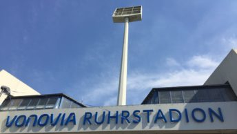 Vonovia Ruhrstadion (2016 - bei der Einweihung des neuen Namens)