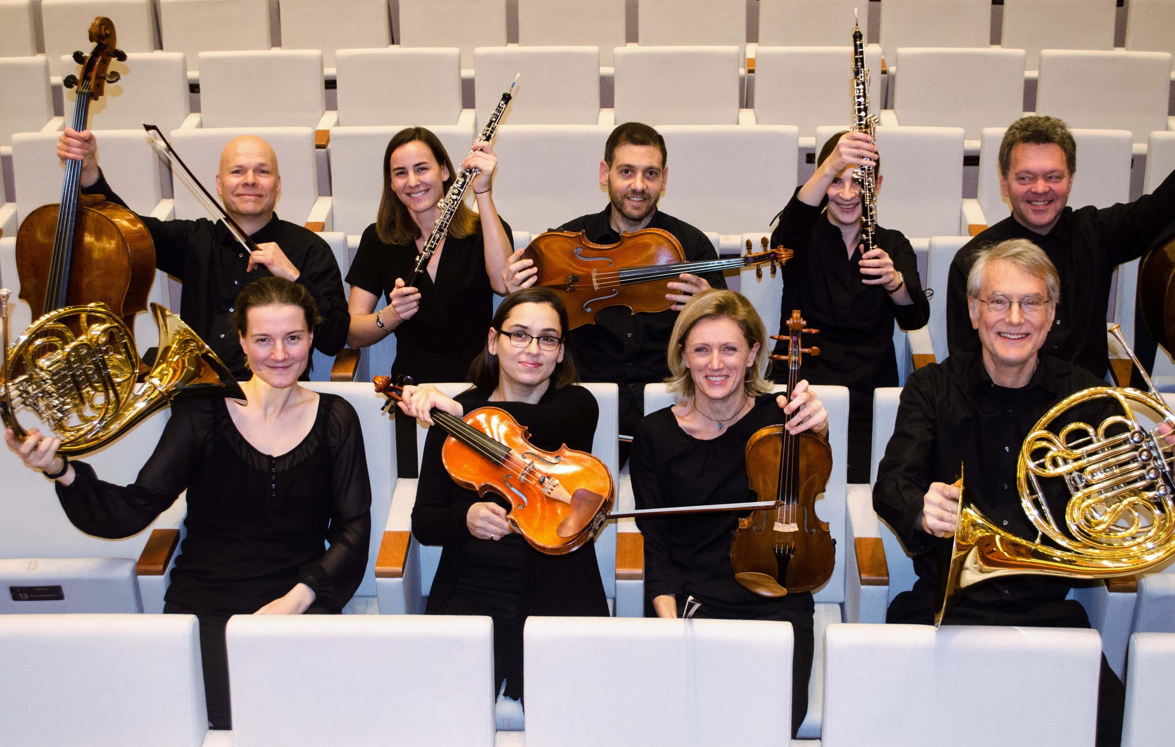 Amadé (Bochumer Symphoniker) treten im Bierkulturgarten auf