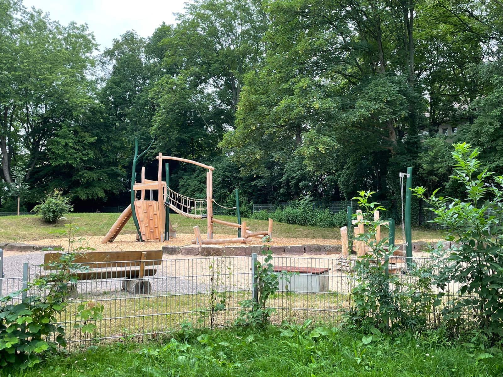 Spiel- und Bolzplatz am Oleanderweg in Bochum-Werne