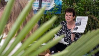 Sommergespräch mit Sozialdezernentin Britta Anger am Stattstrand