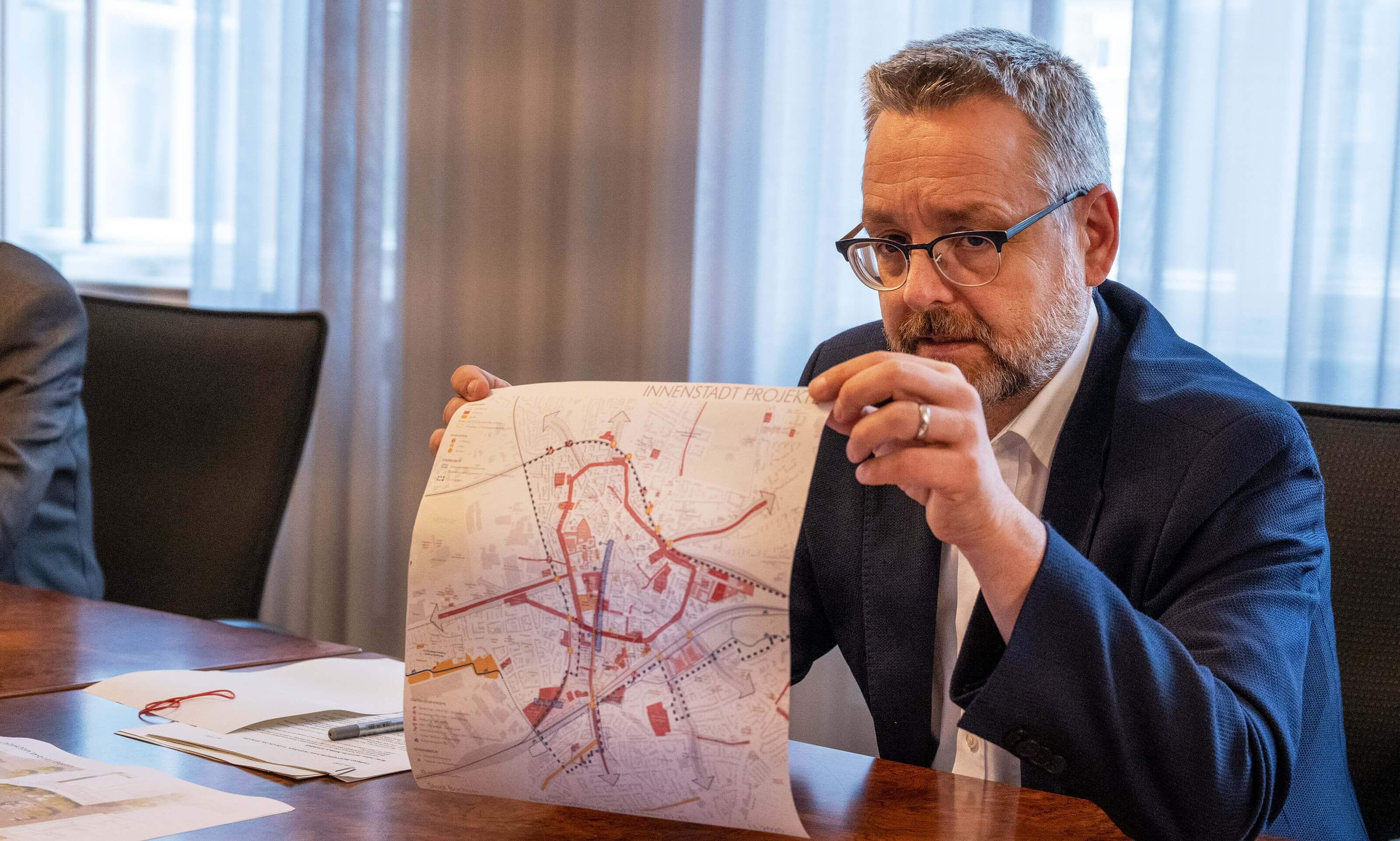Stadtbaurat Dr. Markus Bradtke im Sommergespräch 2021