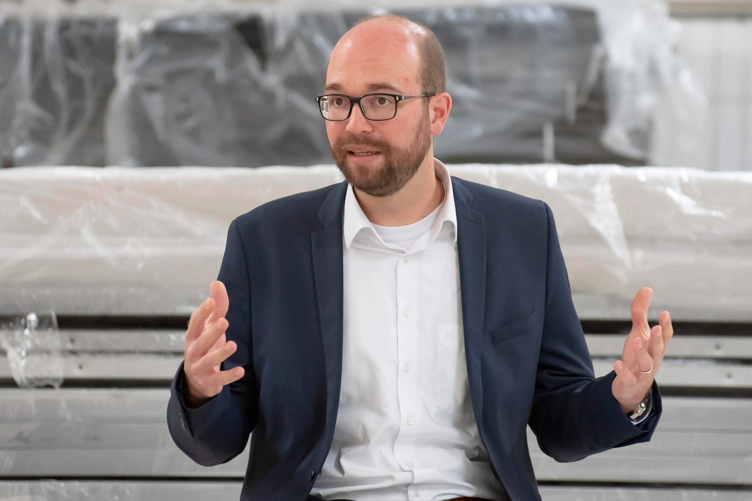 Stadtdirektor Sebastian Kopietz im Sommergespräch 2020
