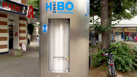 Trinkwassersepender der Stadtwerke Bochum (Alter Markt Wattenscheid)