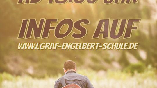DHLVKADGES (das hoffentlich letzte virtuelle Konzert an der Graf-Engelbert-Schule)