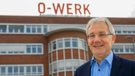 Sommergespräch 2021 mit Ralf Meyer (Bochum Wirtschaftsentwicklung) vor dem O-Werk