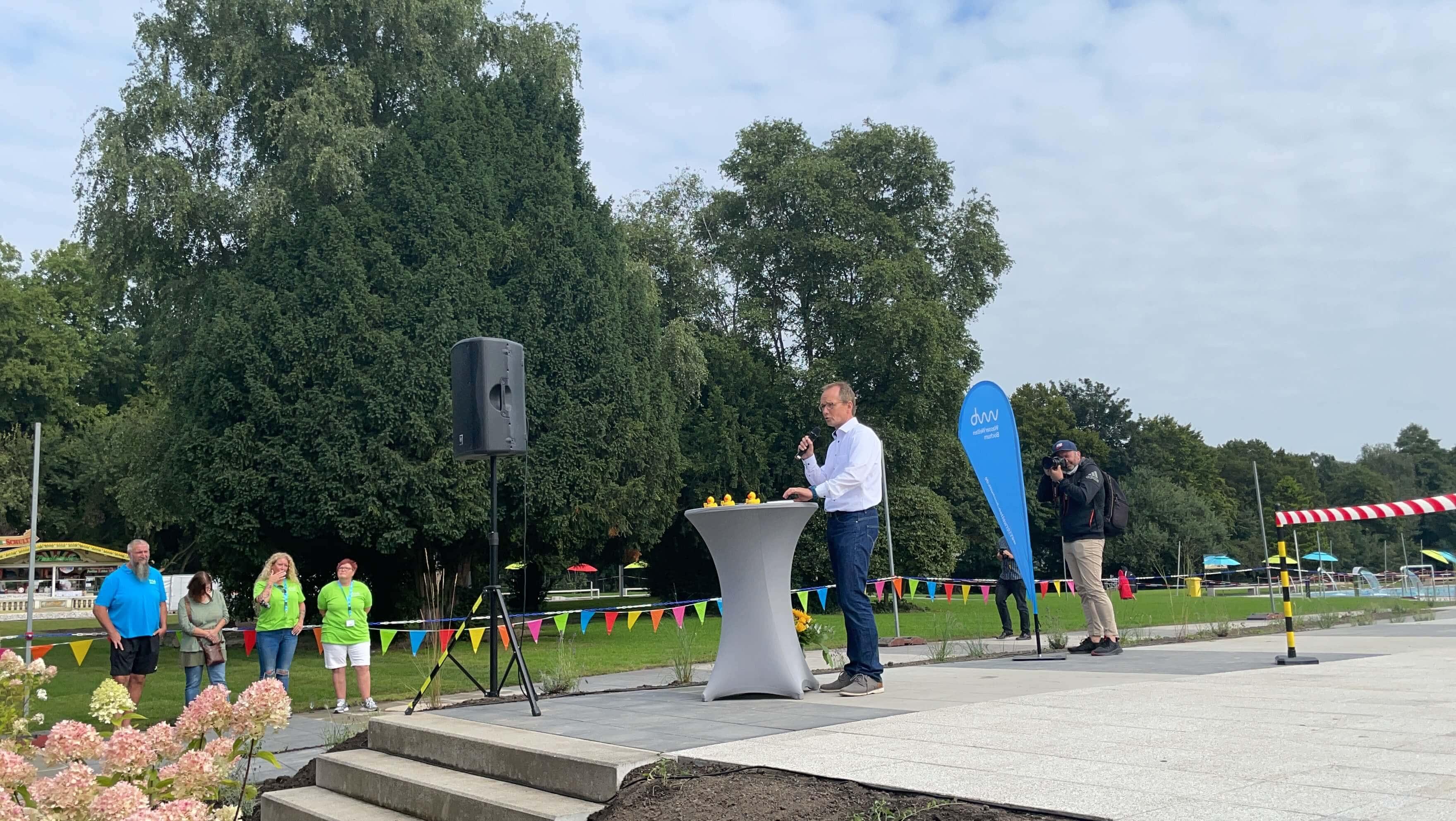 Freibad Werne (WasserWelten Bochum): Holger Rost, Geschäftsführer der WasserWelten Bochum