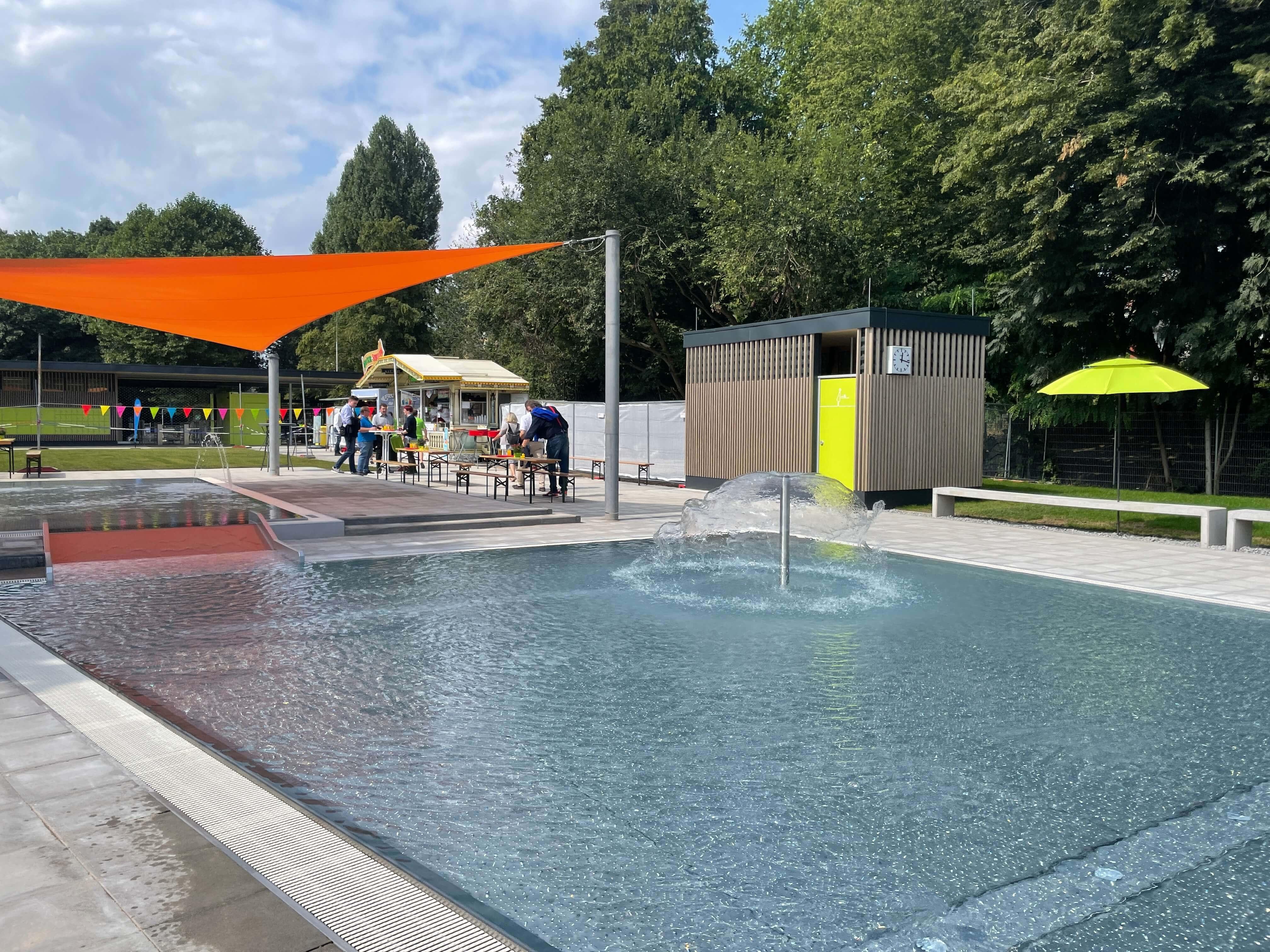 Freibad Werne (WasserWelten Bochum): Nichtschwimmerbecken