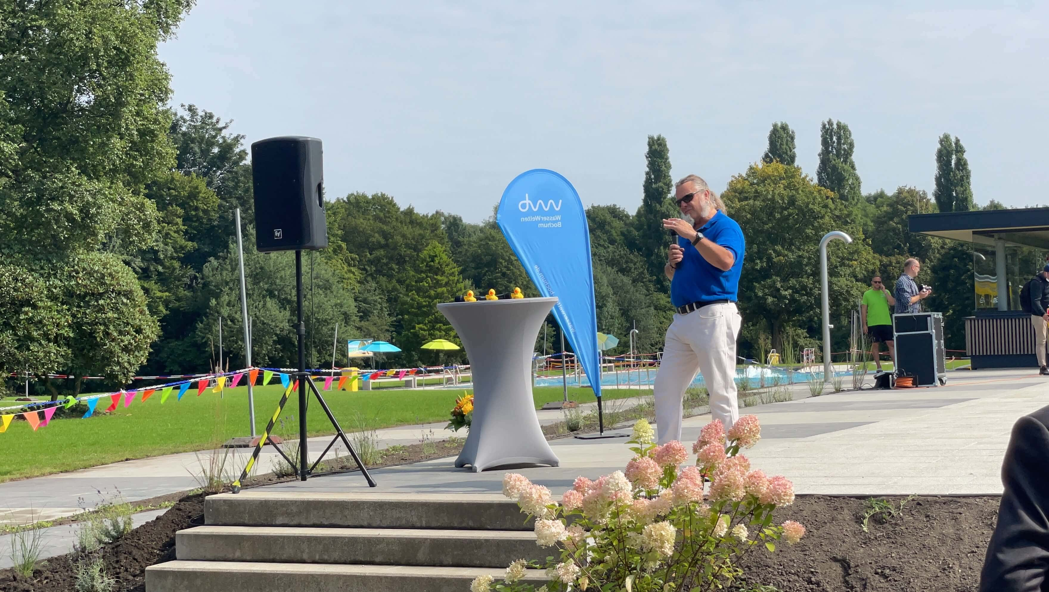 Freibad Werne (WasserWelten Bochum): Joachim Maier (Pool out of the box)
