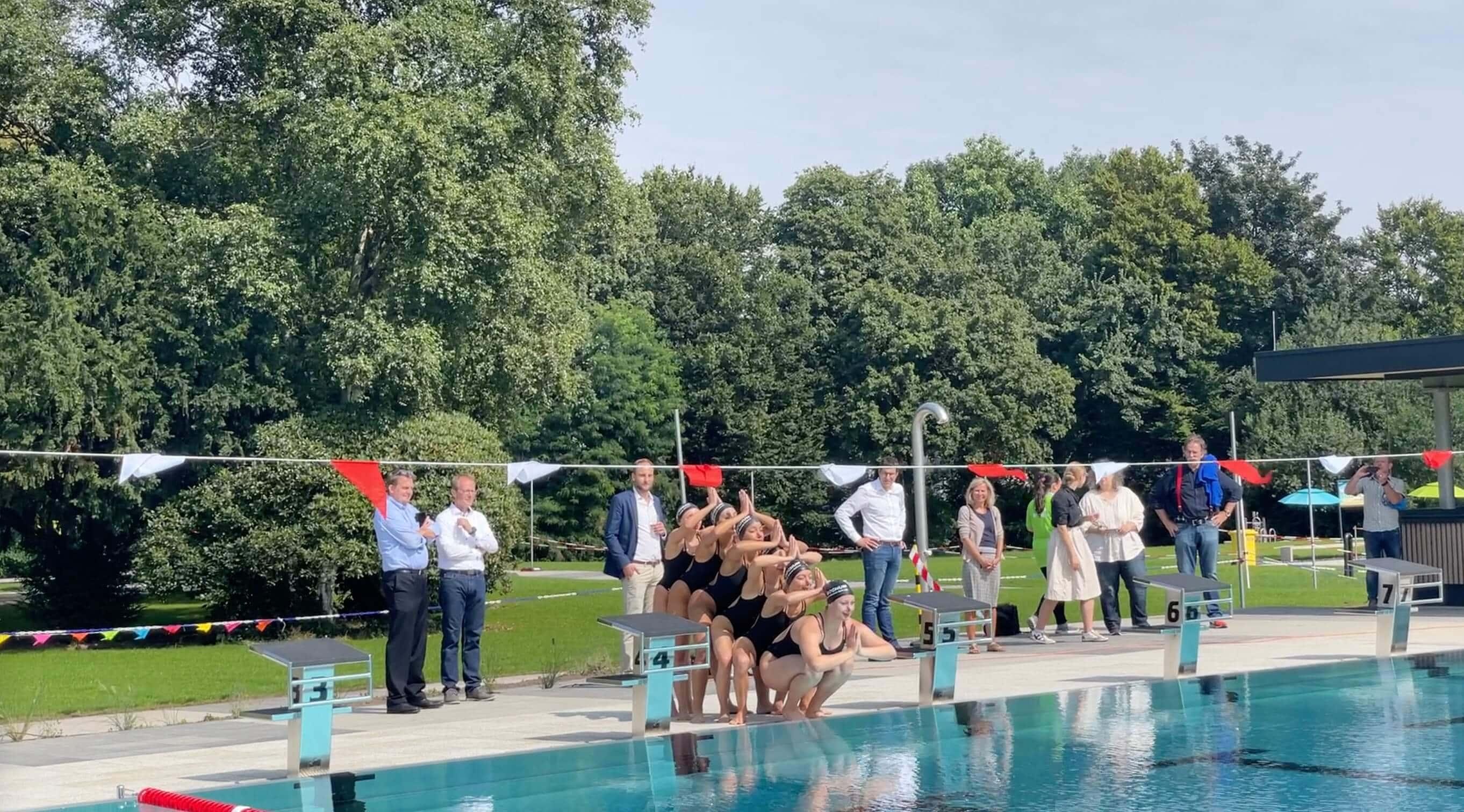 Freibad Werne (WasserWelten Bochum): Synchronschwimmen