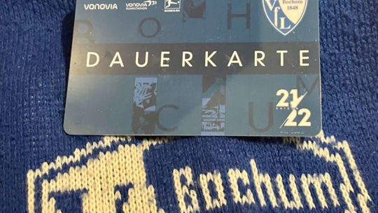 Dauerkarte des VfL Bochum: Saison 2021-2022