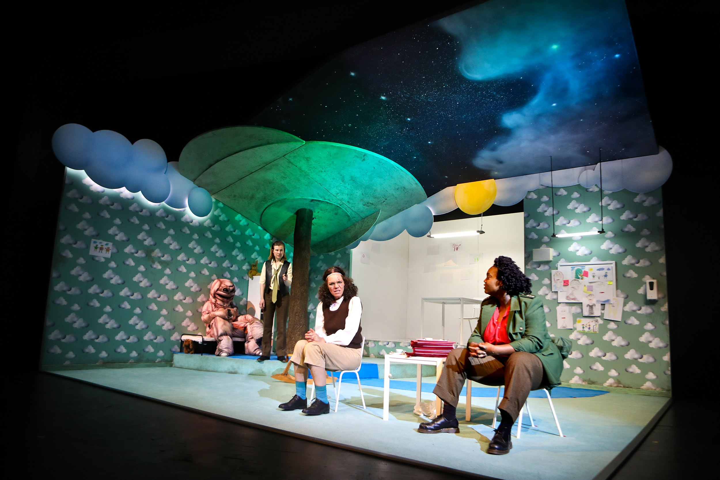 Schauspielhaus Bochum: Der Kissenmann